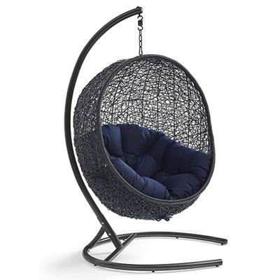 best egg chair modway encase outdoor swing chair