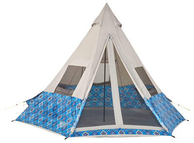 best teepee tents wenzel outdoors shenanigan 5 person tent